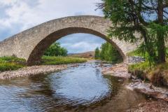 Bridge over the river Gairn - Balater, Scotland