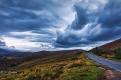 Typical scottish weather, Ballindalloch (UK)
