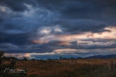 The sky of The highlands - Scotland (UK)