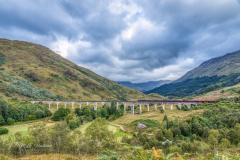 The Glenfinnan Viaduct (Harry Potter) - Scotand