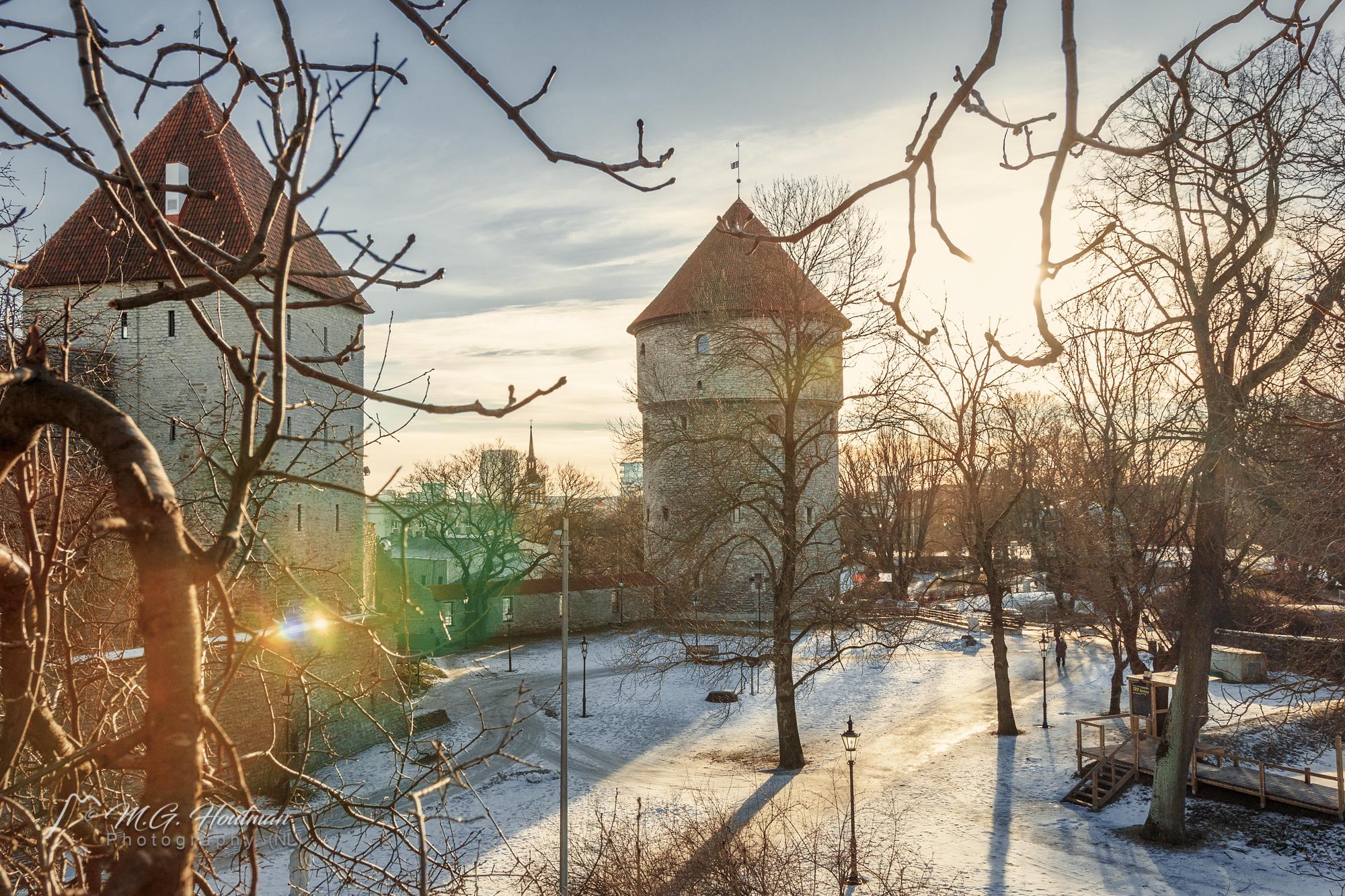 Toompea Castle en Pikk Hermann
