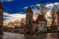 Viru Väravad, entree van de oude binnenstad