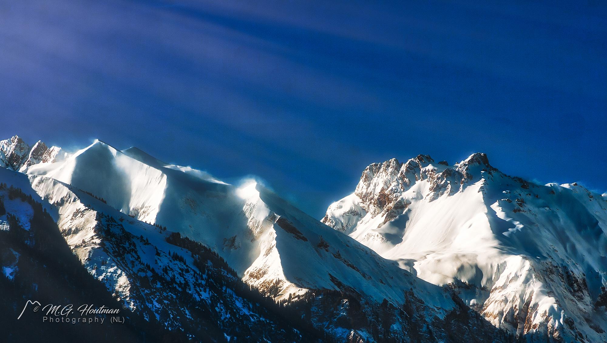 zicht op Allgäuer Alpen