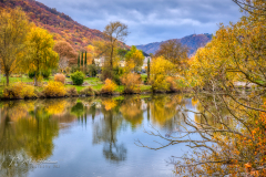 Awsome colors along the Moselle (Moezel)