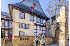 Rosentor Skulpturen - Goslar (D)