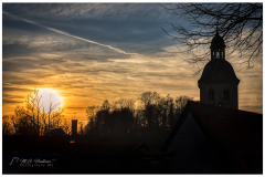 Sunset over Tecklenburg (D)
