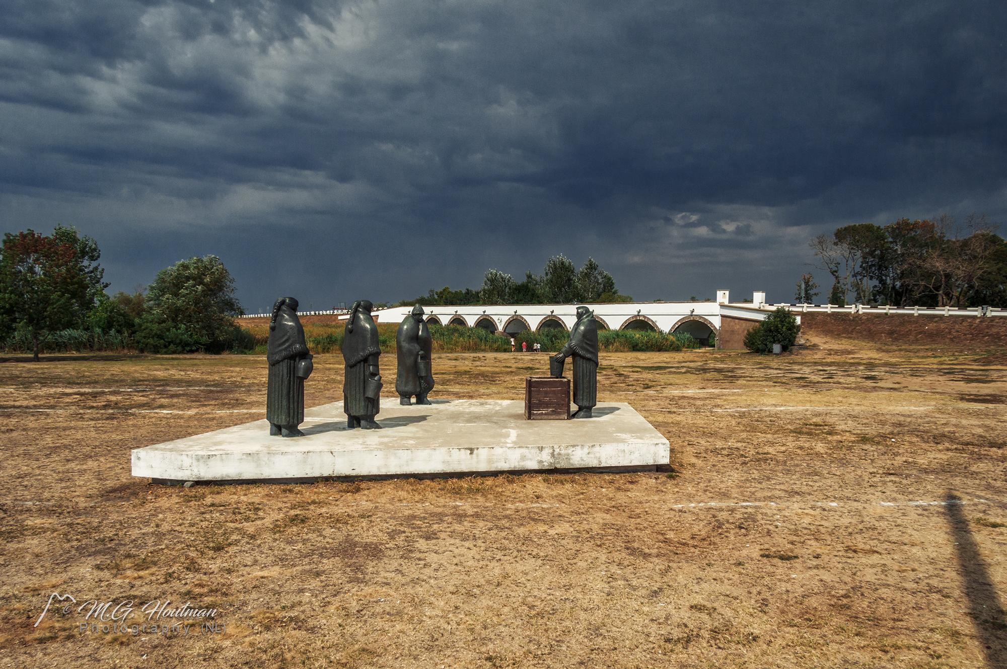 Hortobágyi szobrok - Nine-hole bridge, Hortobágy