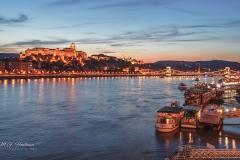 Budapest bij nacht