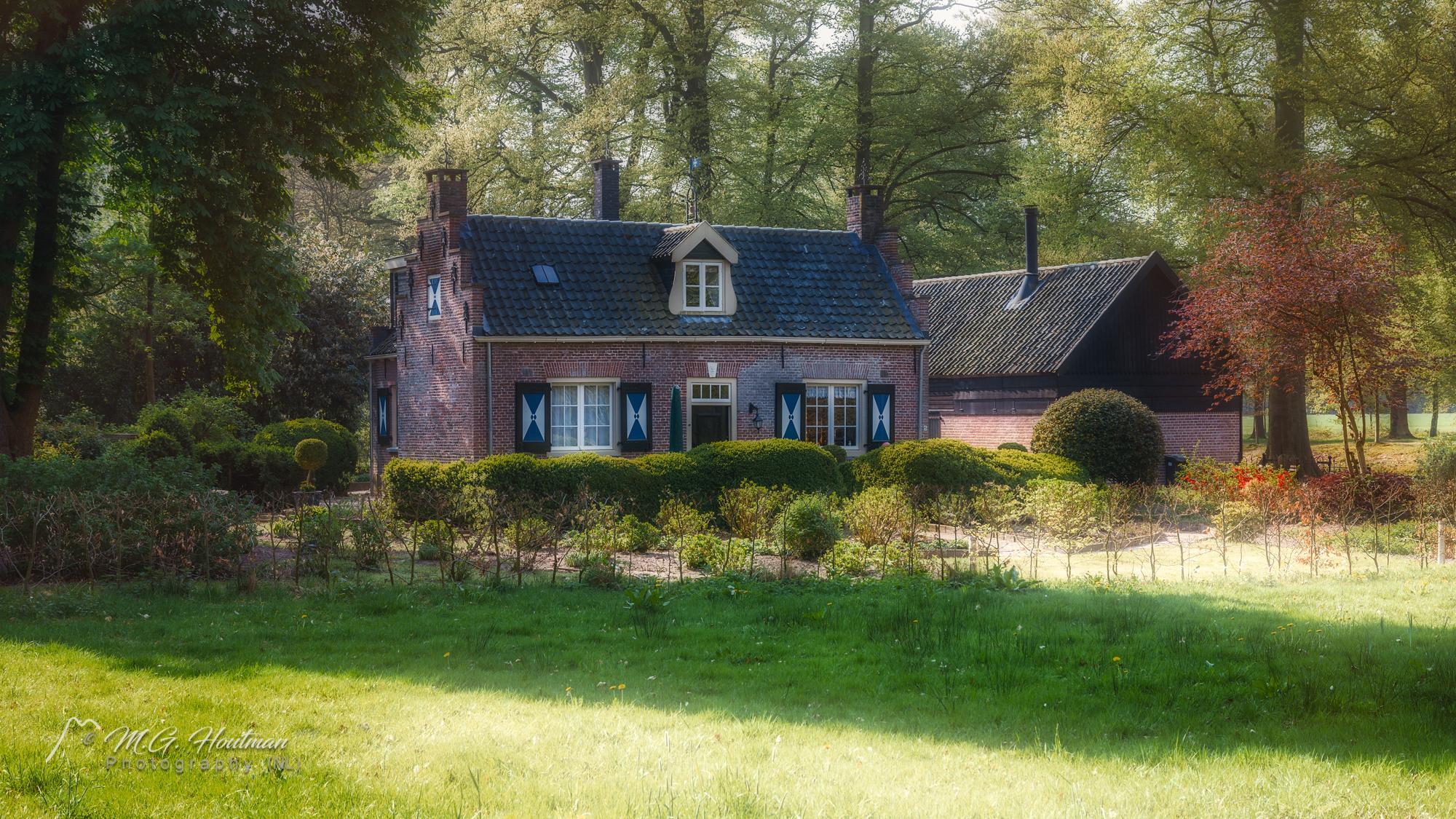 Huisje op Landgoed Zuylestein