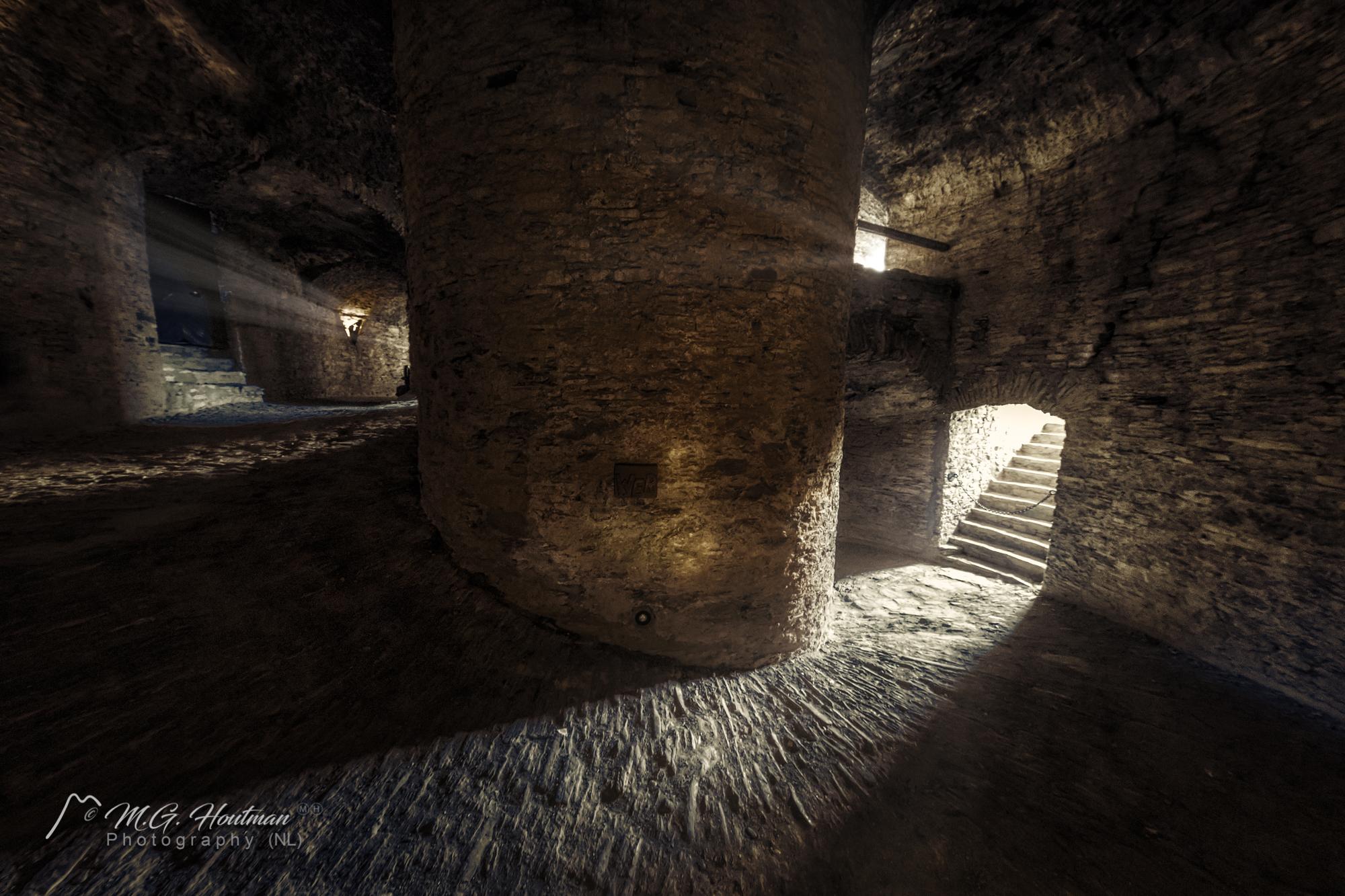 Inside tower Ehrenburg Castle (D)