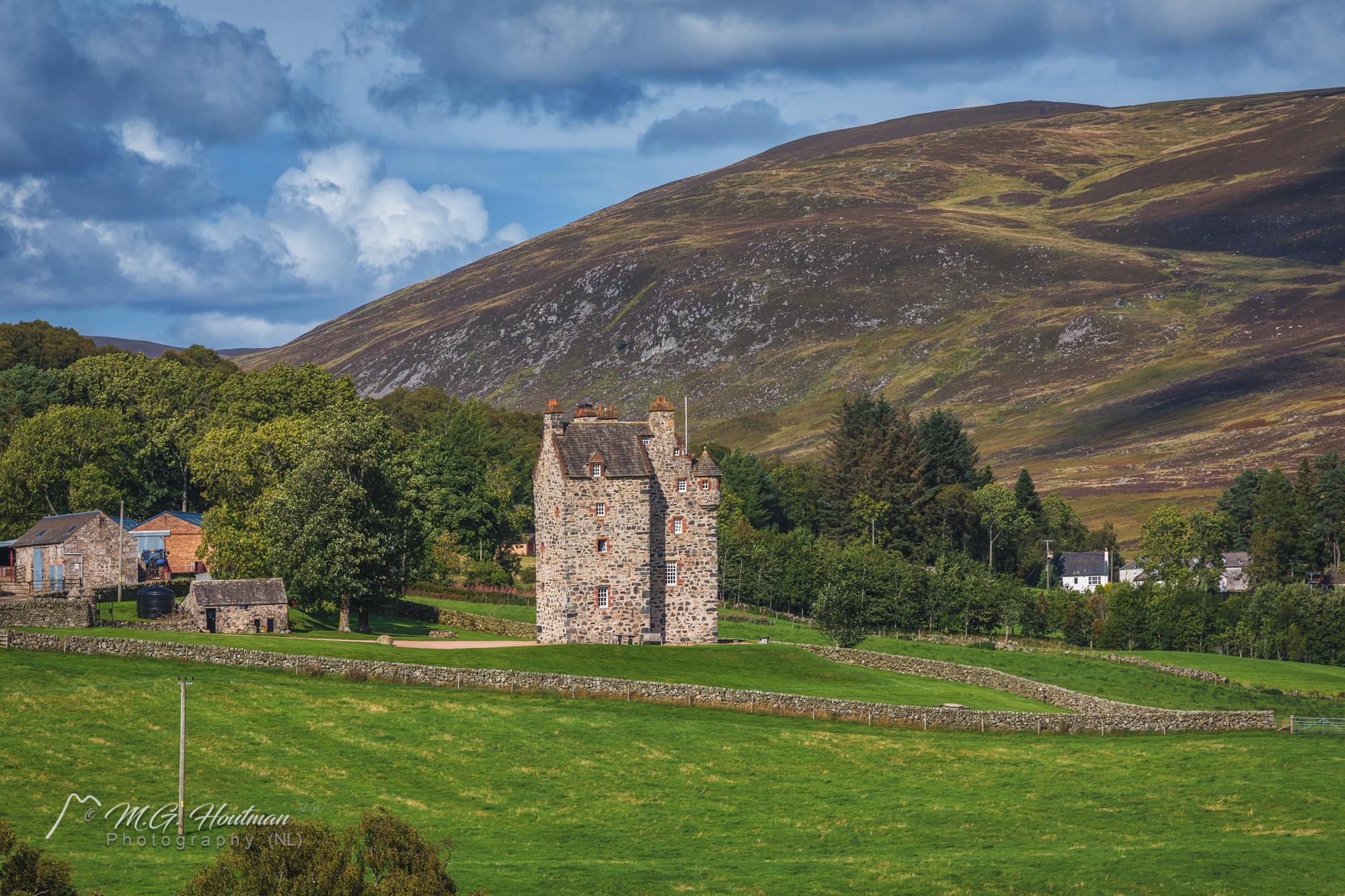 Forter Castle - Blairgowrie, Schotland (UK)
