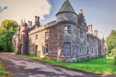 The old Belmont Castle - Blairgowrie, Schotland