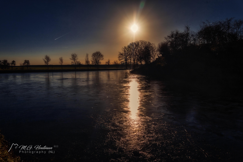 Op een mooie winterdag @ Fort Honswijk