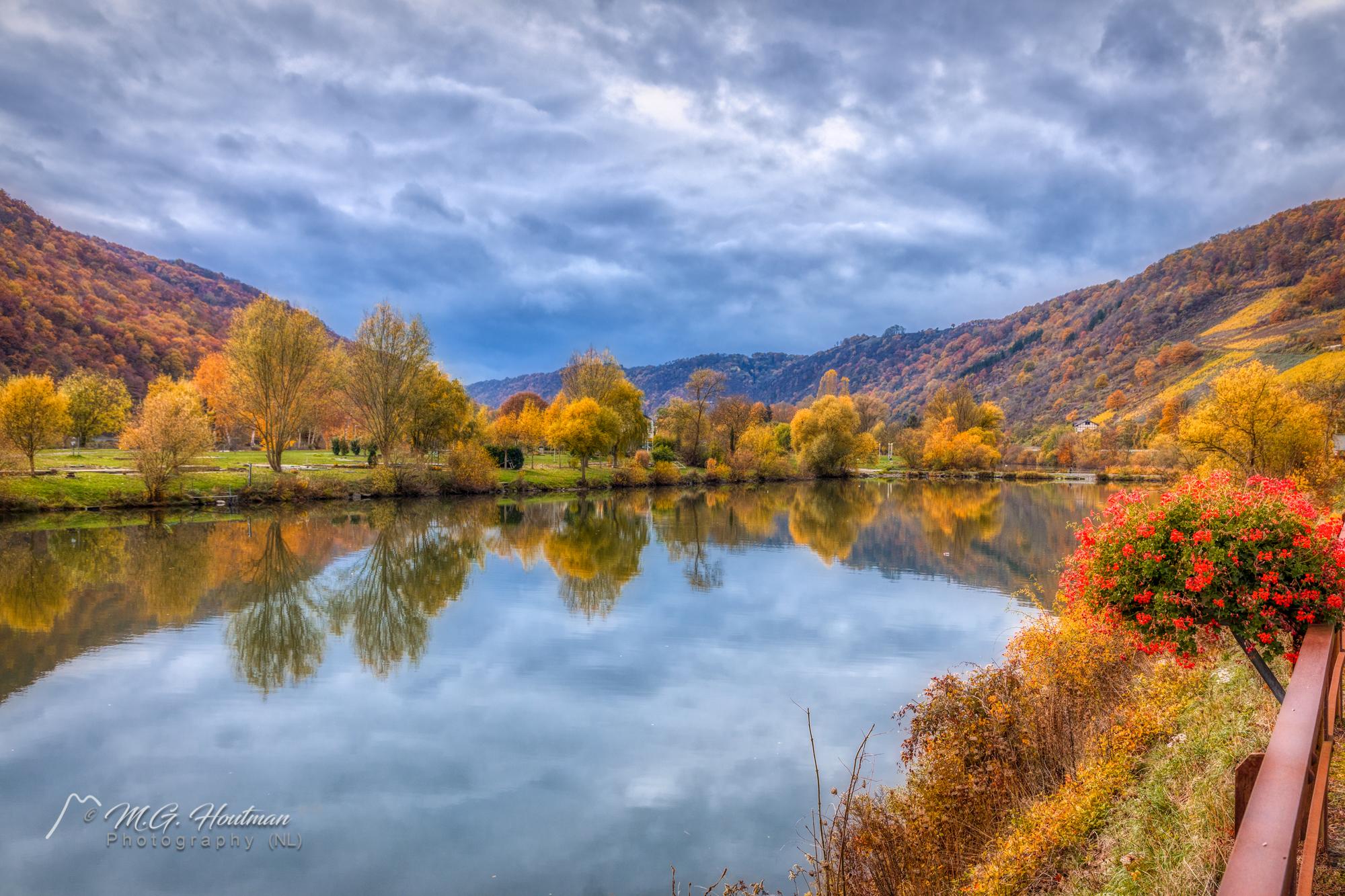 Autumn along the Moselle (Moezel) D