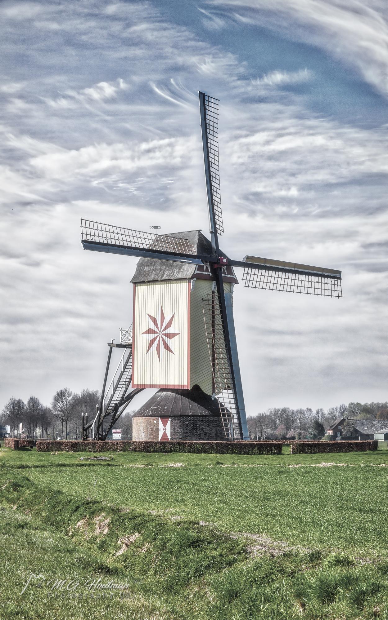 De Hamse molen (De Ster) Noord-Brabant - Wanroij.