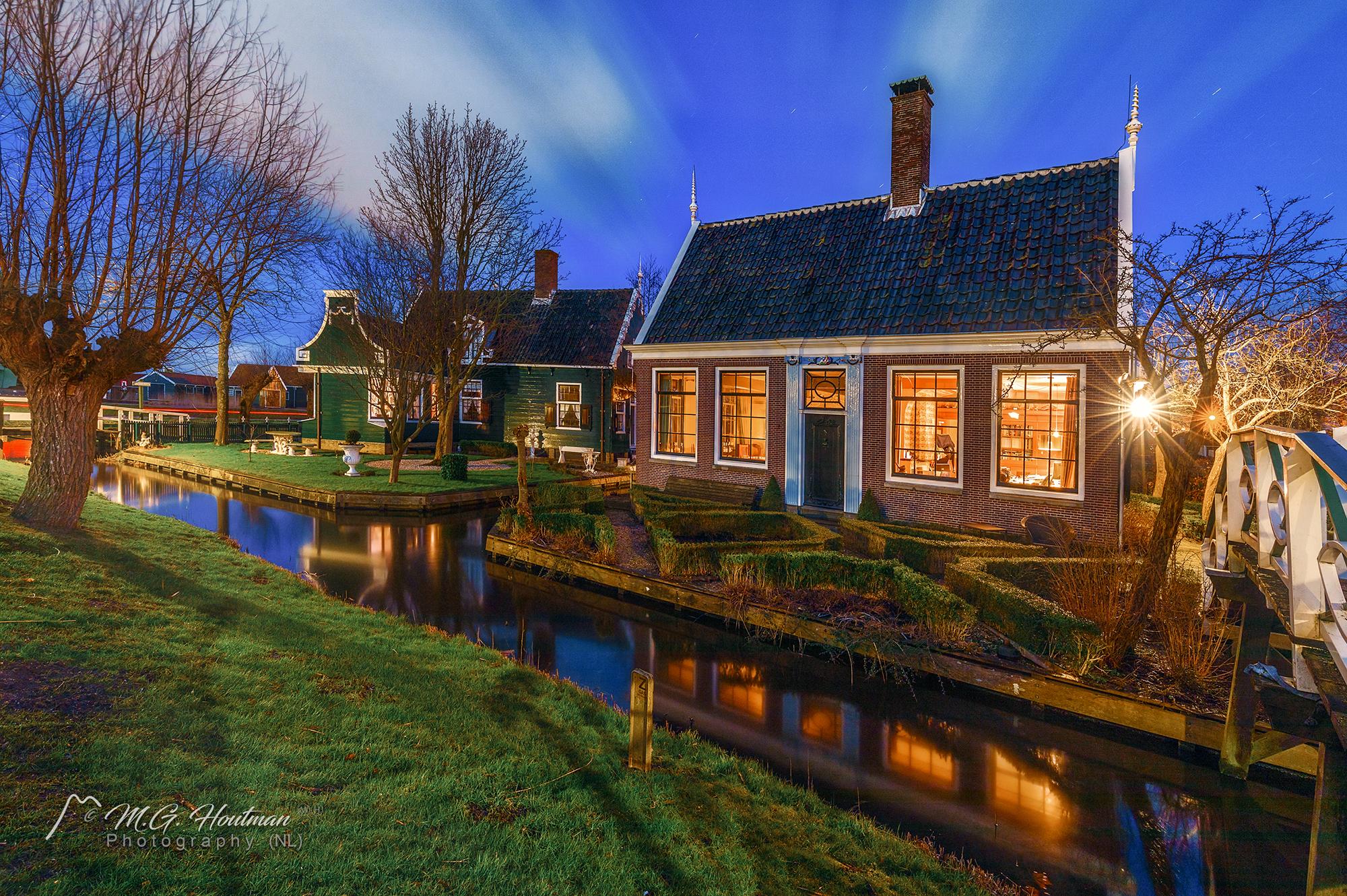 Langs de Kalverringdijk - Zaanse Schans