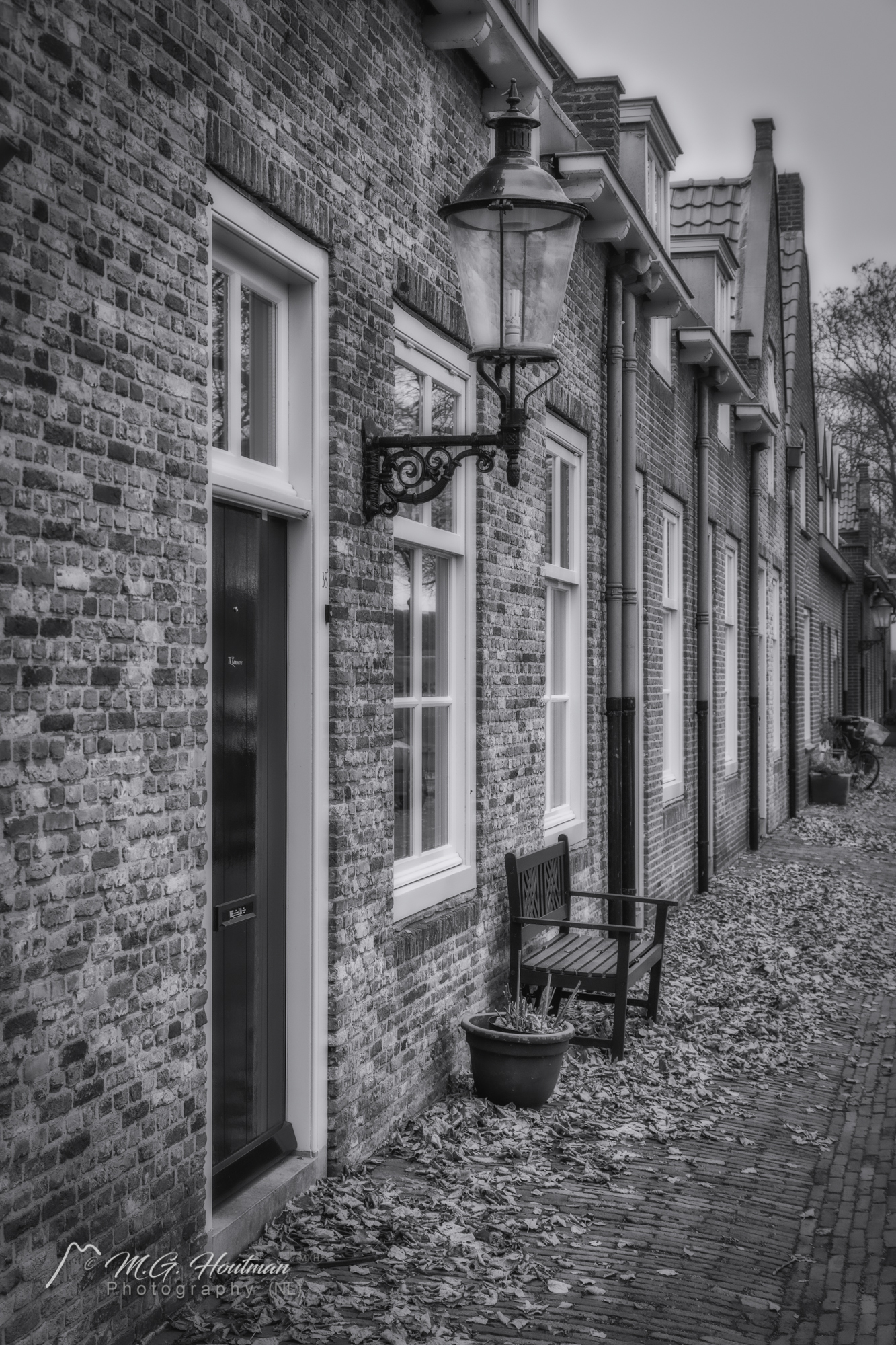 In an old Dutch town