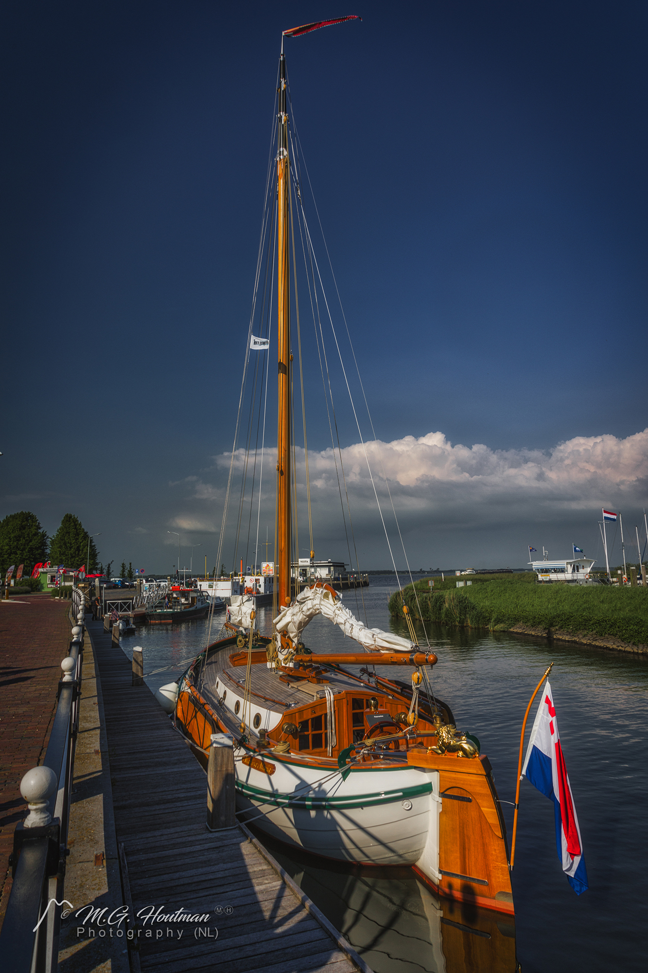 In the port of Willemstad (NL)