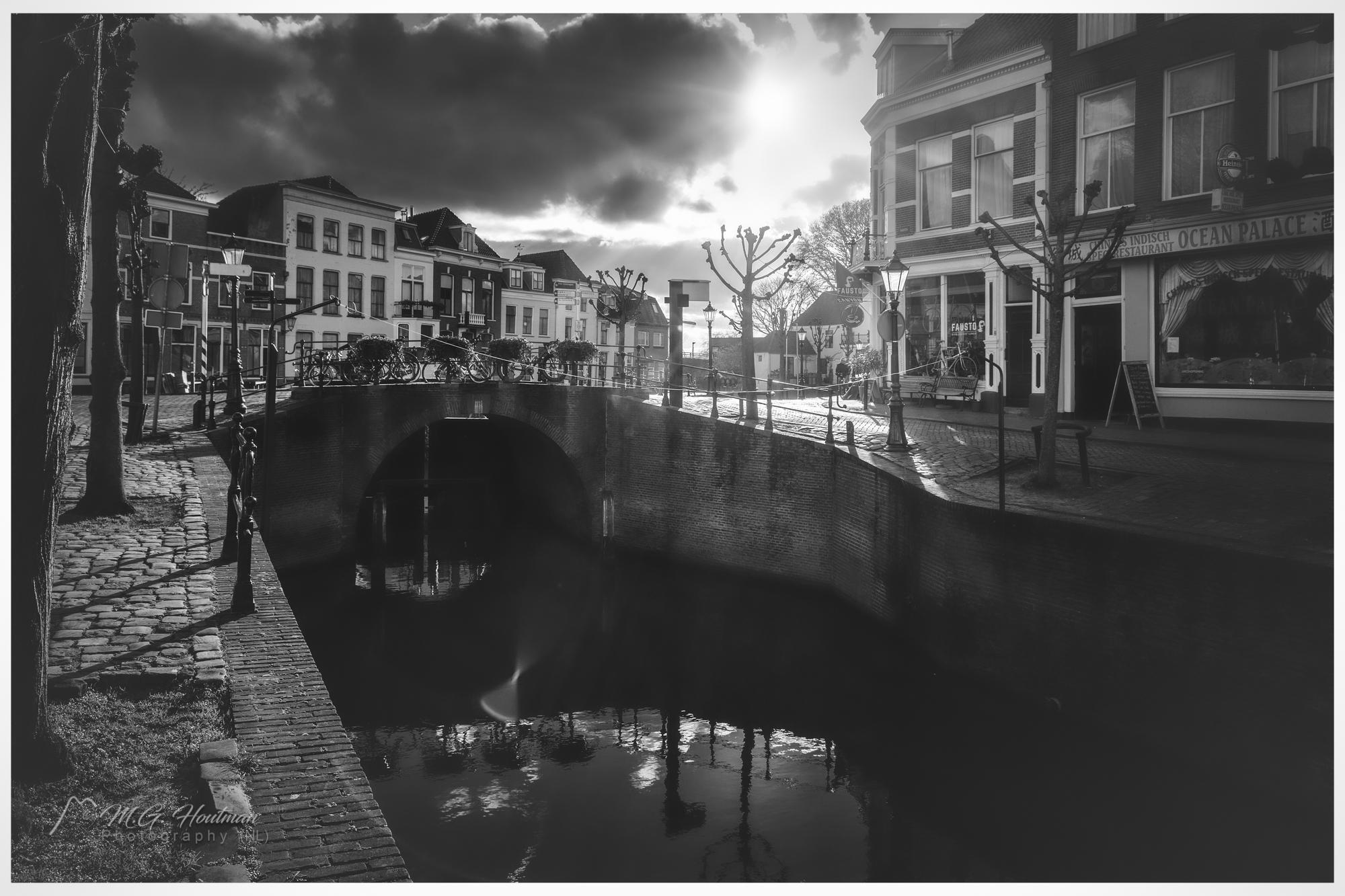 oude centrum van Schoonhoven