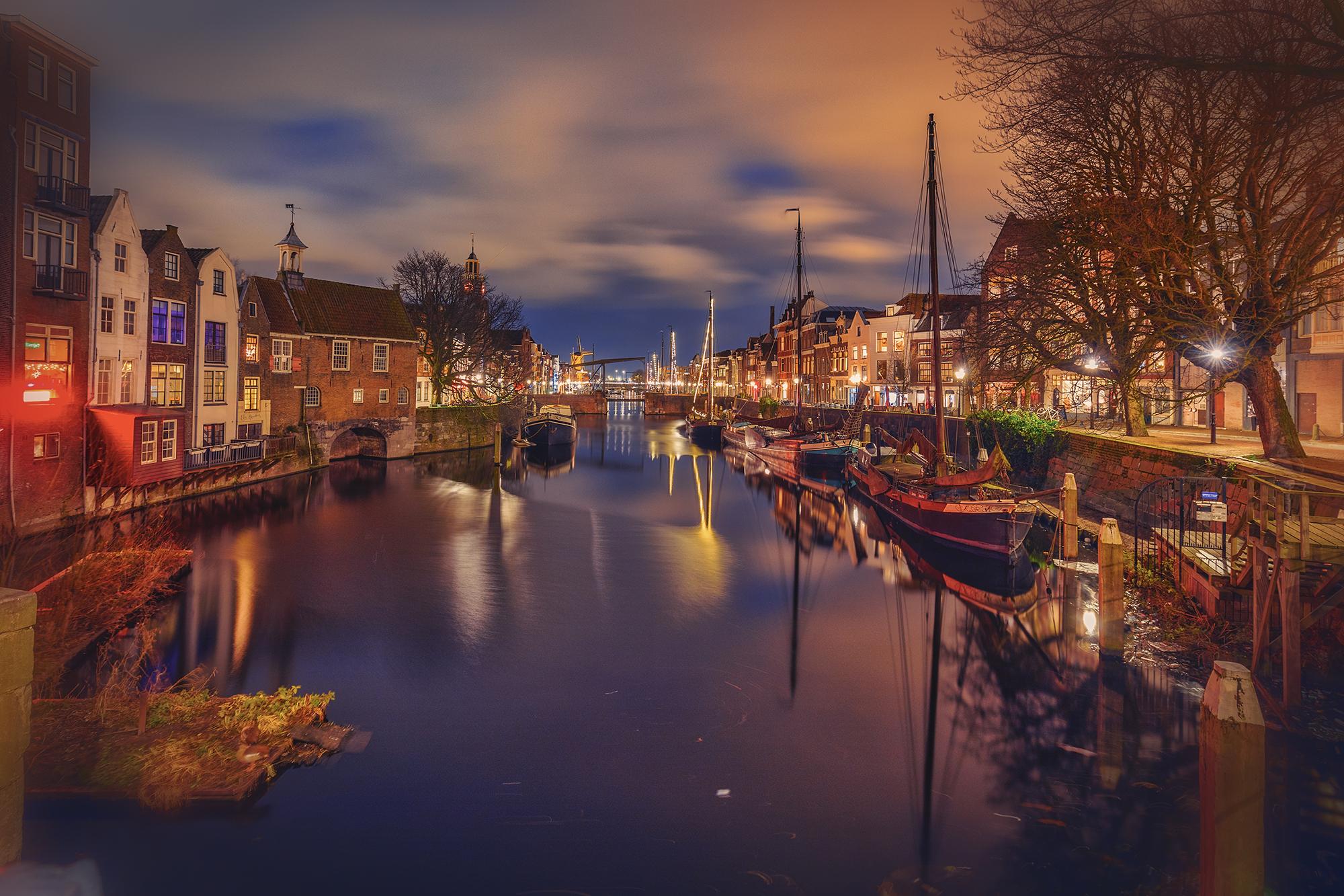 Delfshaven @ Night (NL)