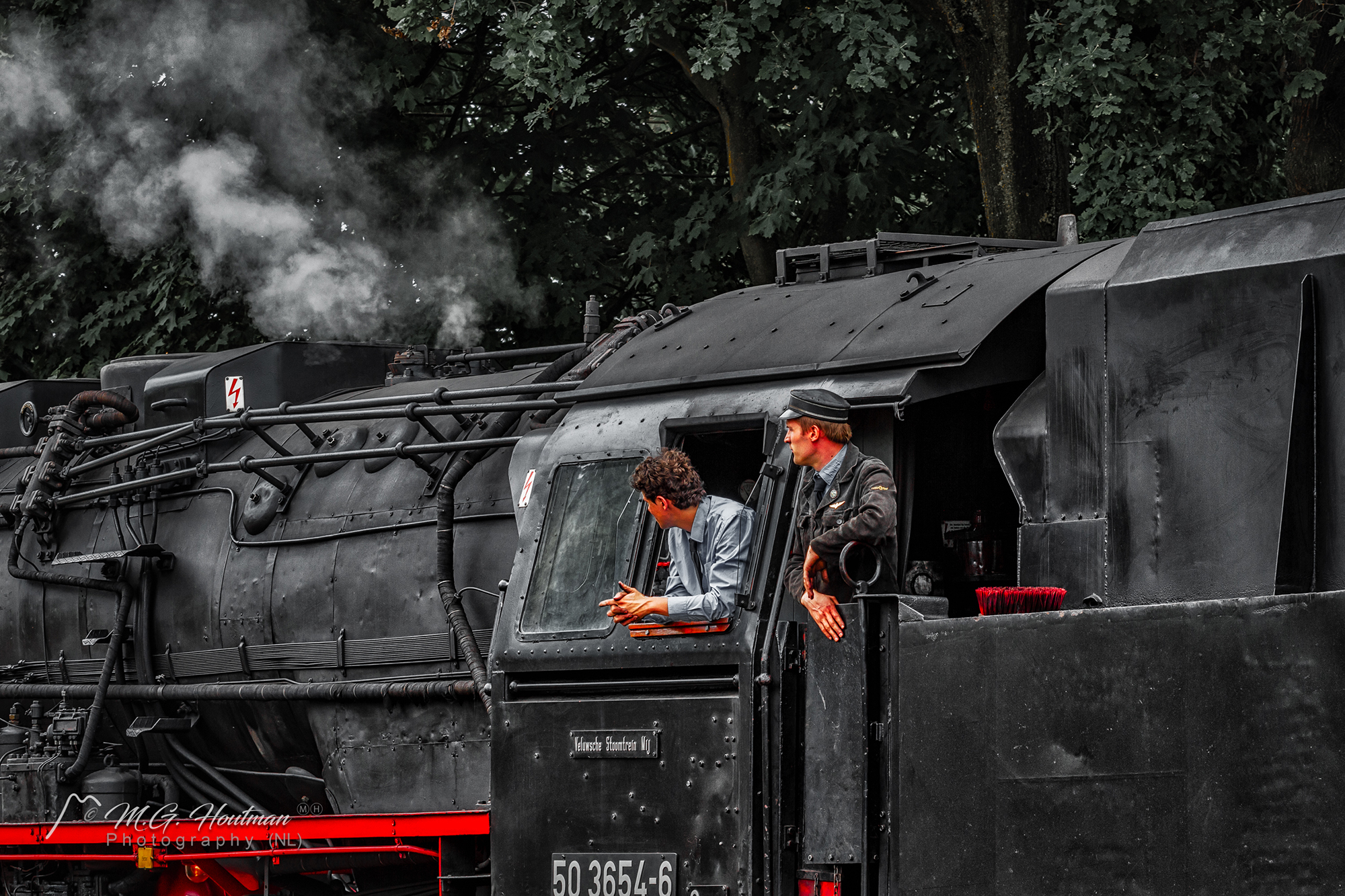 Old steamtrain (NL)