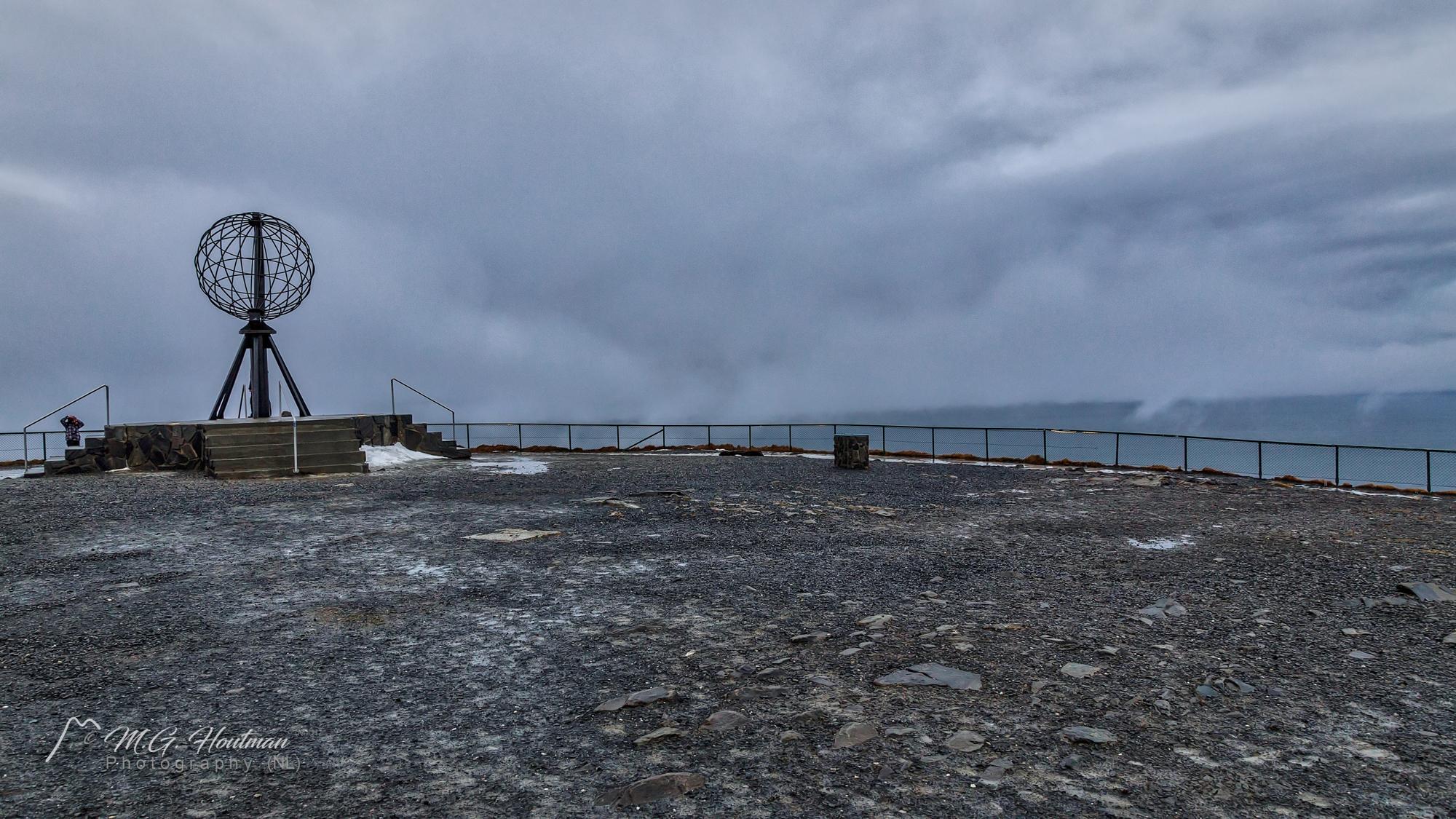 Nordkapp aan de Barentszzee