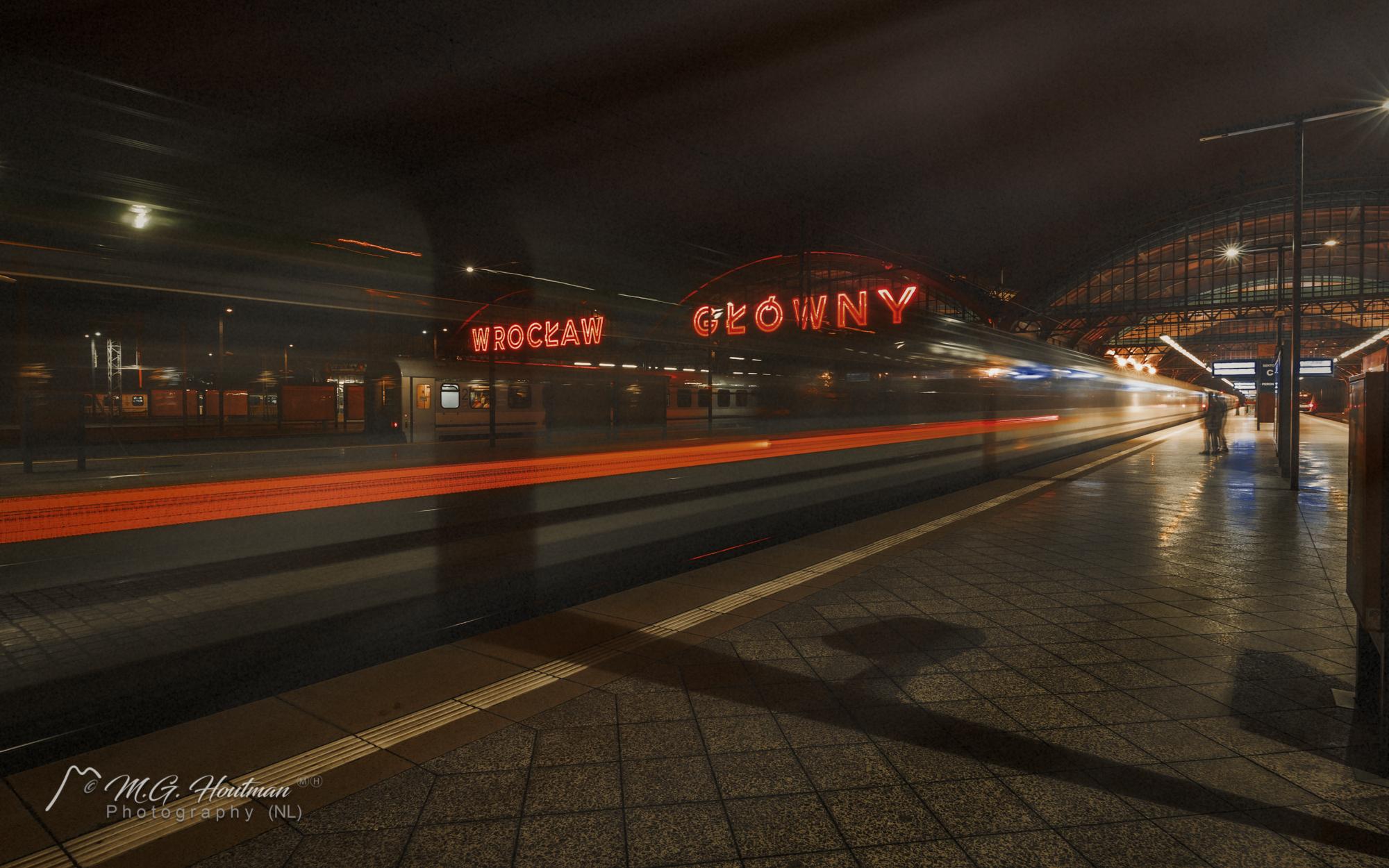 station Wrocław Główny - Poland