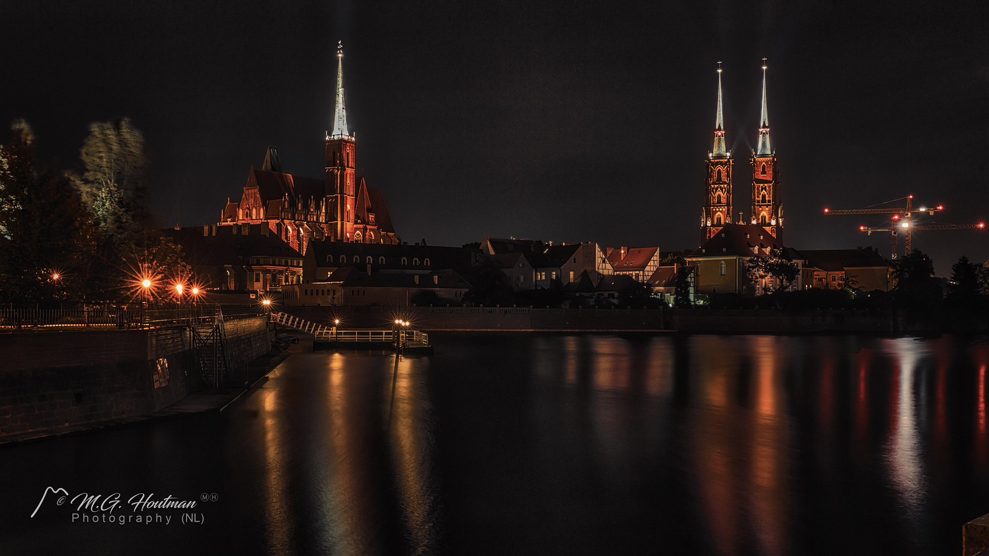 Kerken op Ostrów Tumski, Wroclaw - Poland