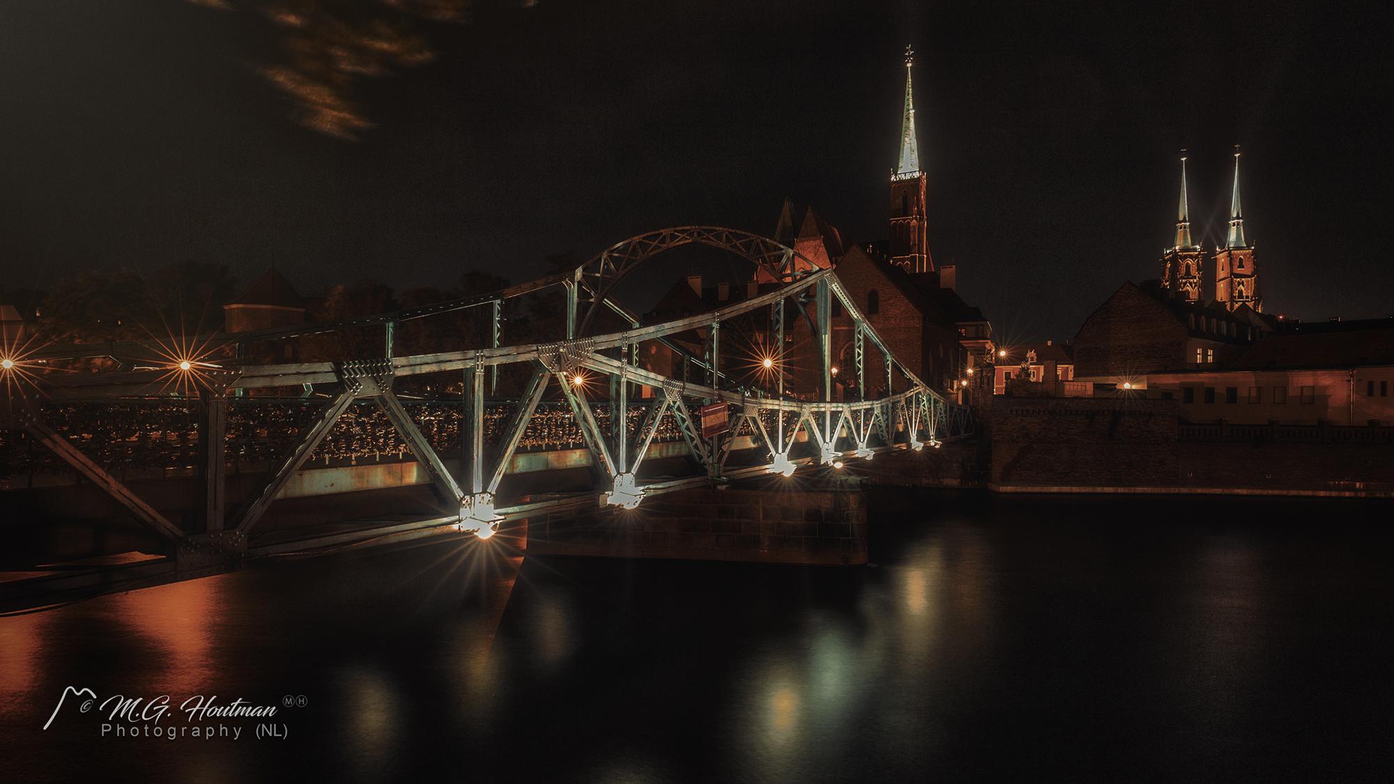 Tumski Bridge, Wroclaw - Poland