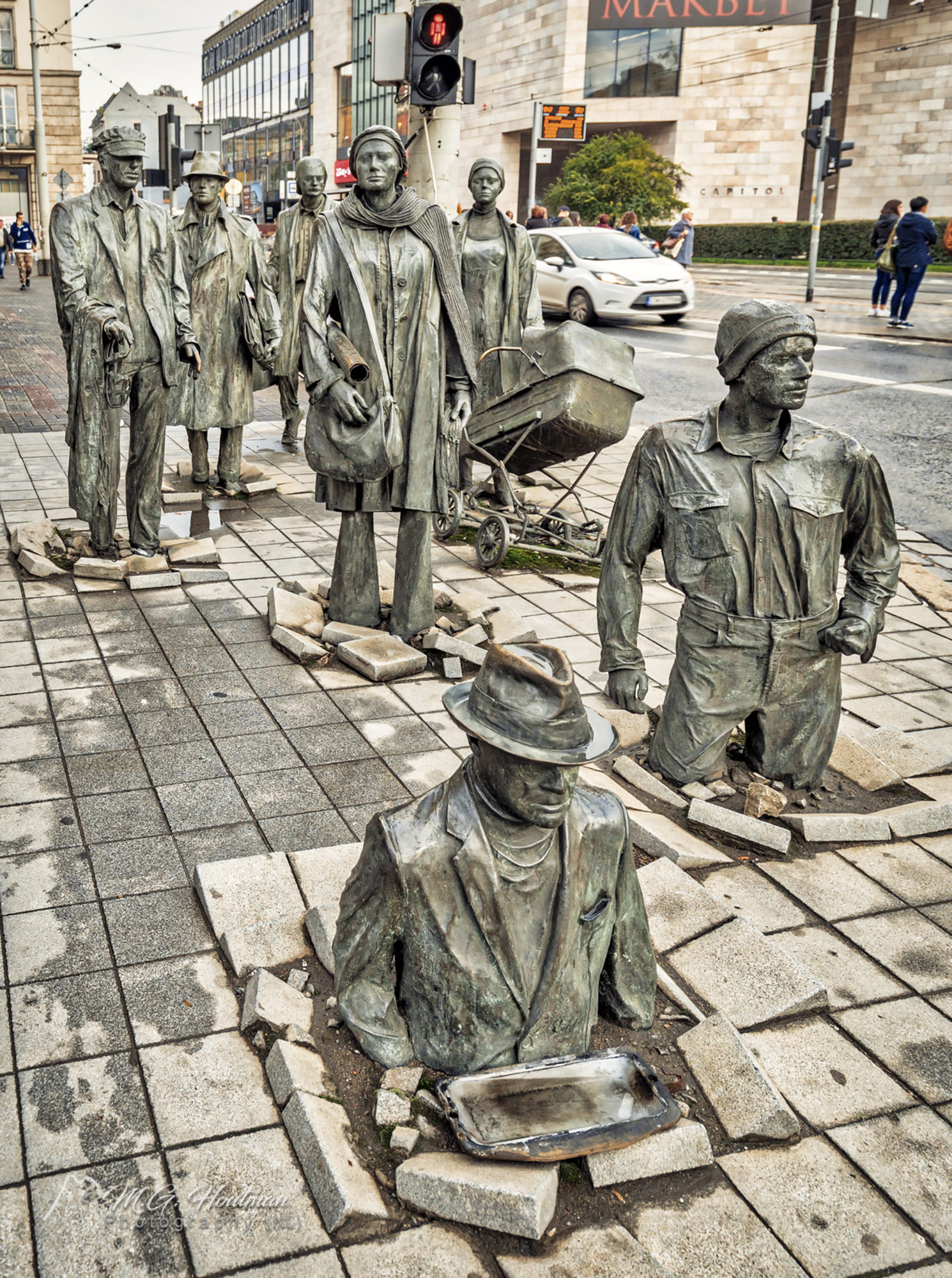 The Anonymous Pedestrian (2) - Wroclaw