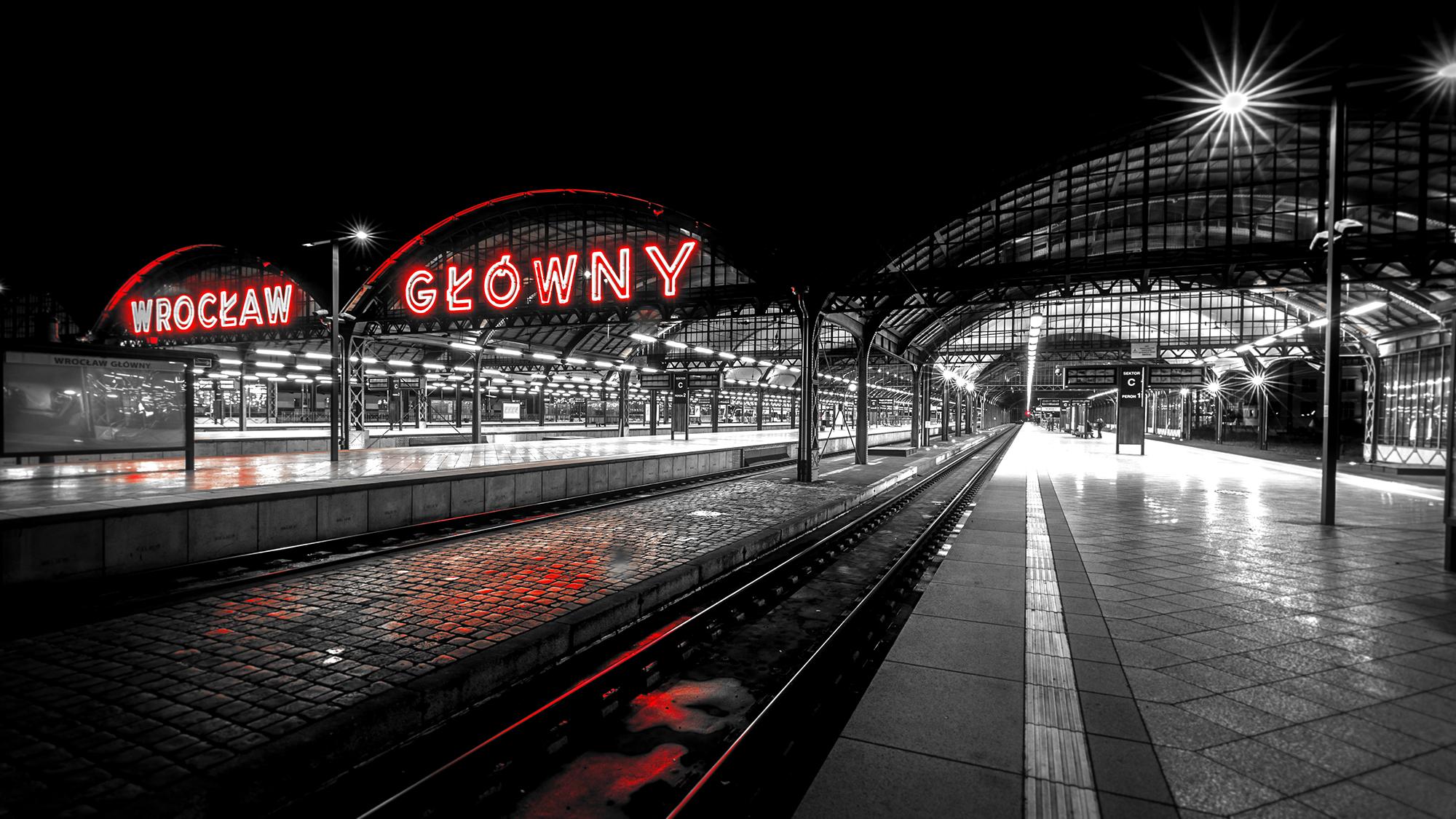 Wroclaw-Breslau Centraal Station
