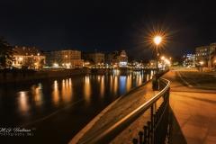 most Młyński and Oder - Wroclaw