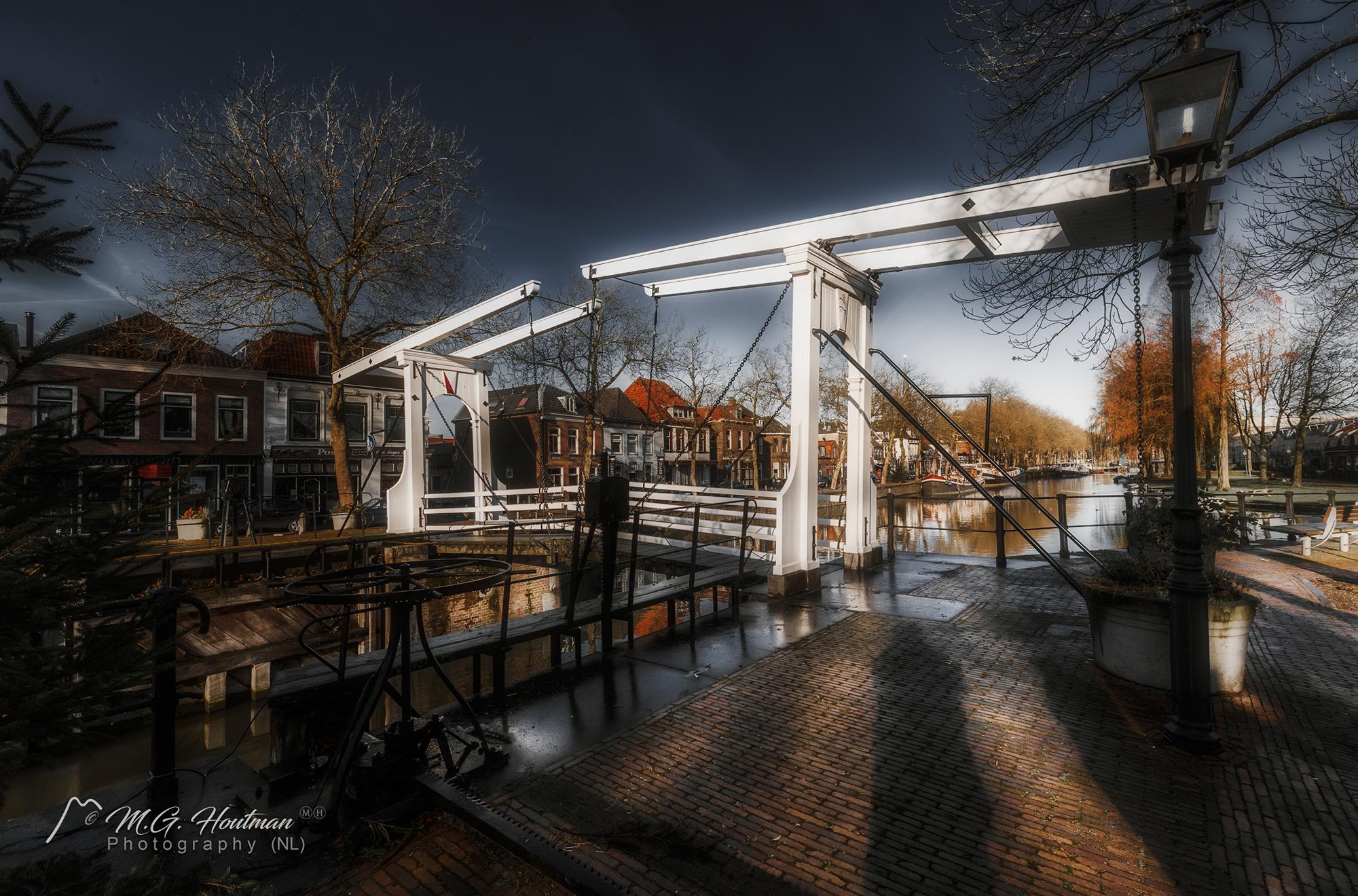 Ophaalbrug bij de Oude Sluis - Vreeswijk