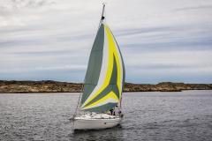 Sailing near Orust and Käringsön