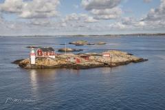 Gåveskår Lighthouse island - Sweden
