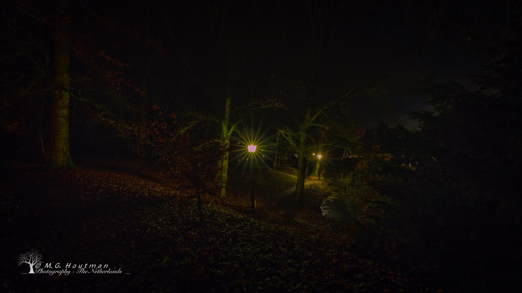 Kasteelpark @ night