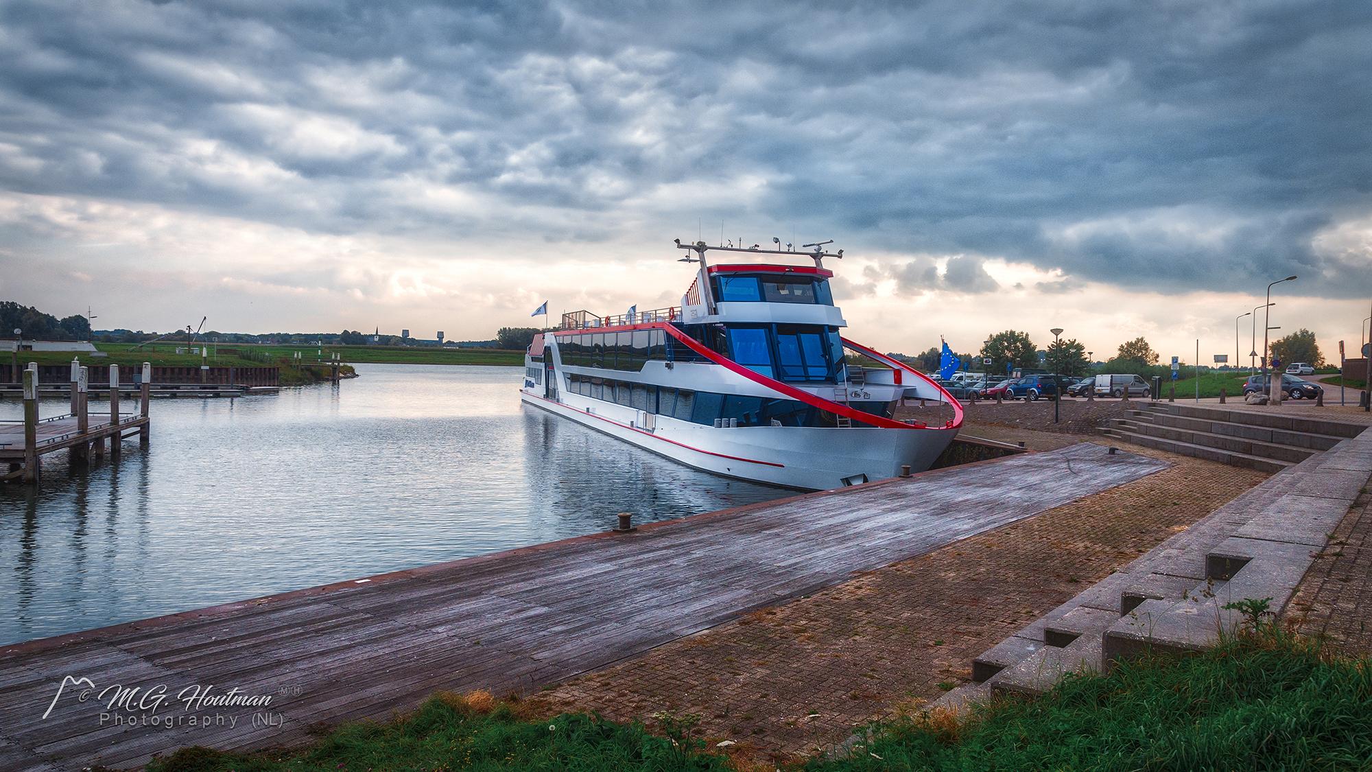 De haven van Wijk