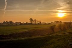WBD tijdens ondergaande zon