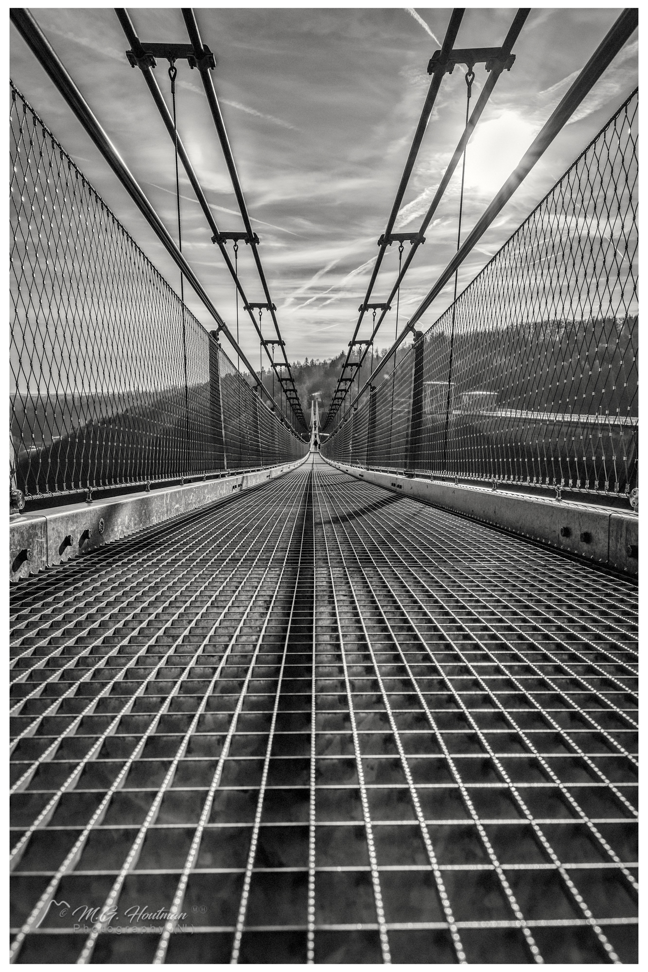Seilhängebrücke Rappbodetalsperre - Ebingerode