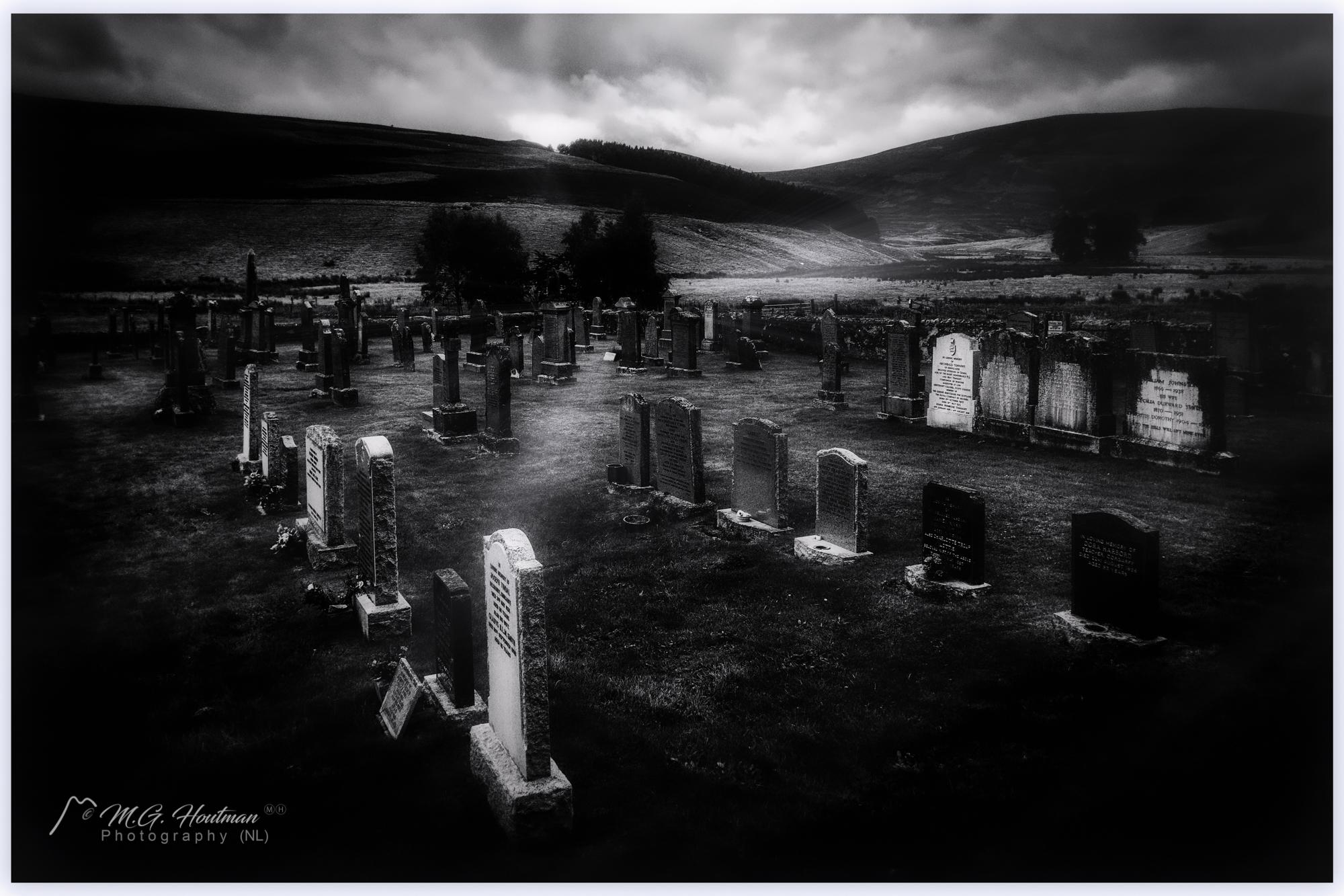Strange graveyard