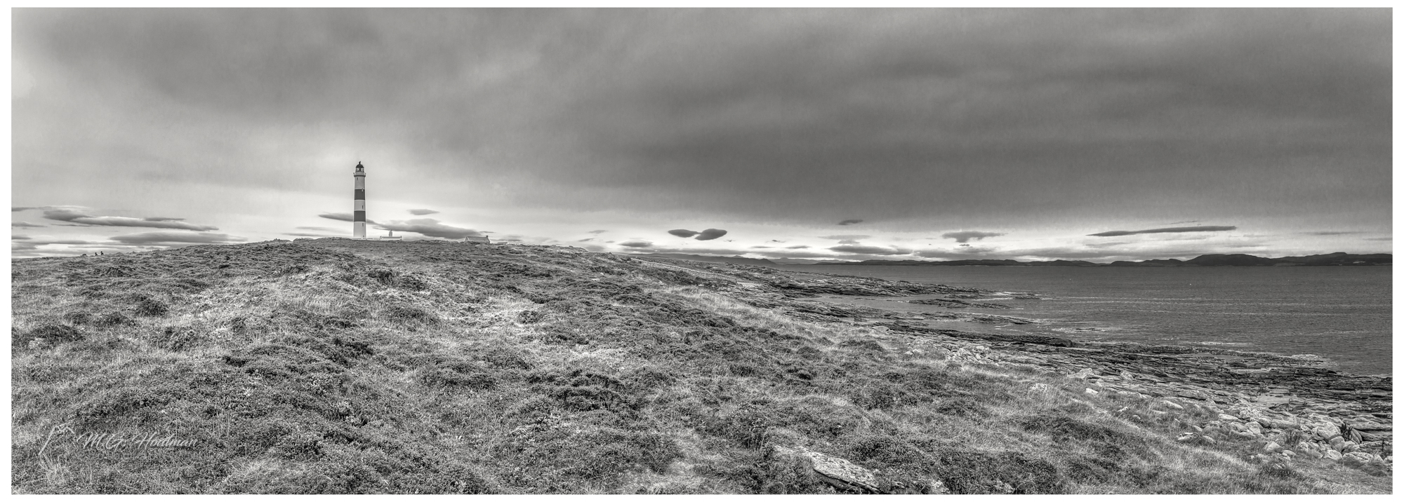 Tarbat Ness Lighthouse @ North Sea