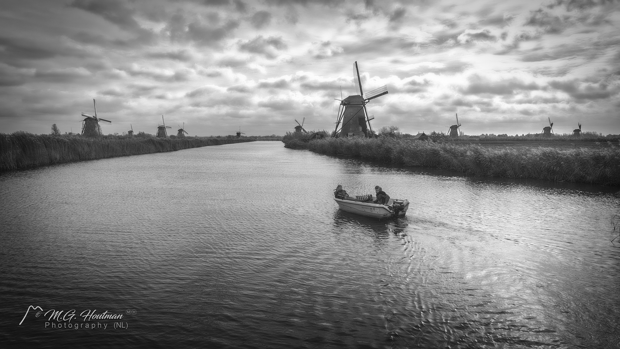 De Kinderdijk - Zuid-Holland